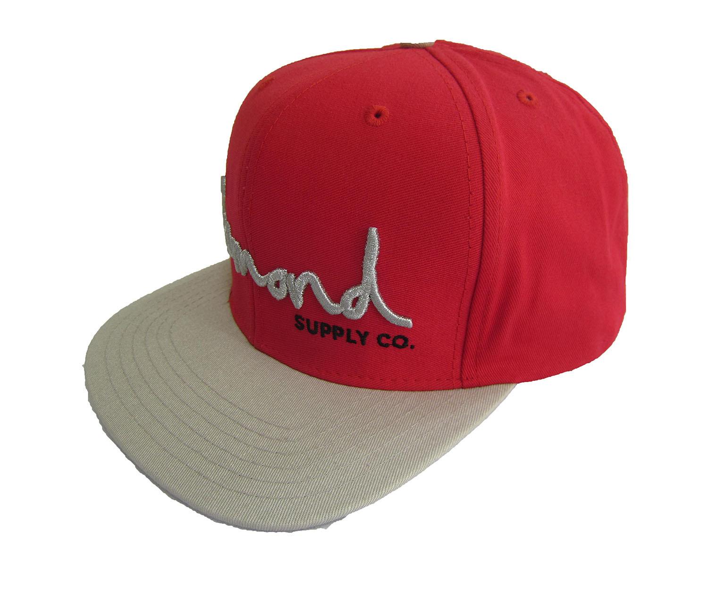 DIAMOND SUPPLY CO OG 1998 RED SNAPBACK CAP